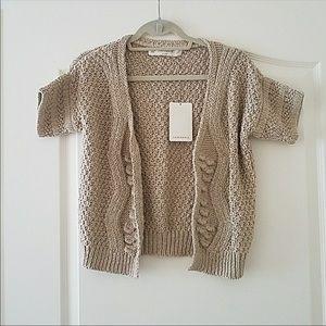 Zara knit open front cardigan